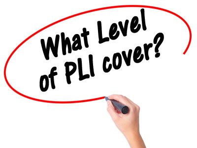 What level of PLI cover